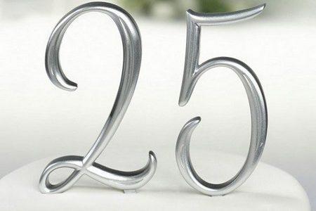 годовщина свадьбы 25 лет