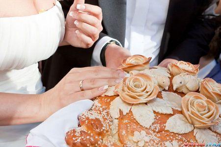 каравай на свадьбу