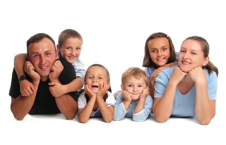 Многодетная молодая семья