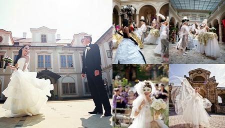 свадьба в стиле королевкого бала