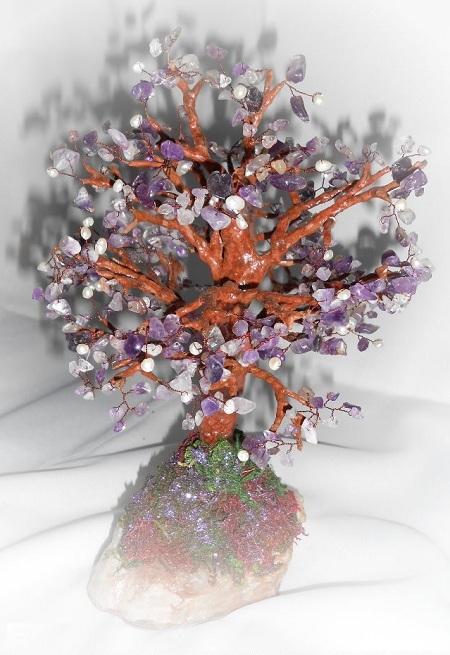 Дерево с жемчугом