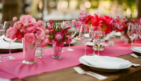 10 лет свадьбы. Розовая
