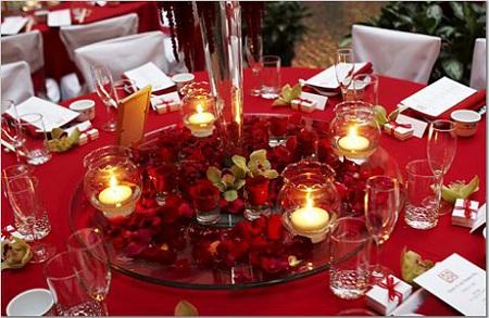 Банкет на рубиновую свадьбу