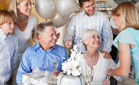 Домашний сценарий серебряной свадьбы