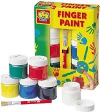 пальчиковые краски в подарок