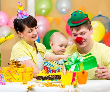 Первый день рождения ребенка