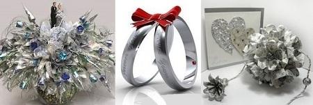 Подарки на серебряную свадьбу