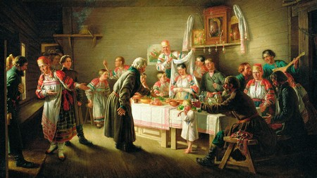 помолвка на руси