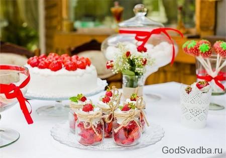 десерт из клюбники