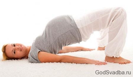 упражнения для беременной женщины