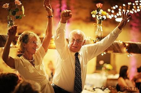 юбиляры на свадьбе