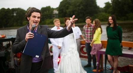 ведущий на свадбе
